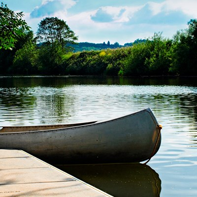 Lucksall Caravan & Camping Park is situated on the banks of the river Wye, a popular canoeing spot.