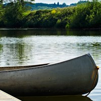 Lucksall Caravan and Camping Park is situated on the banks of the River Wye, ideal for Canoeing.
