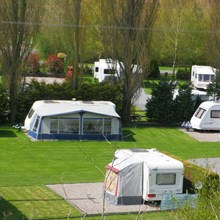 Lucksall offers spacious caravan pitches for those touring the British countryside.