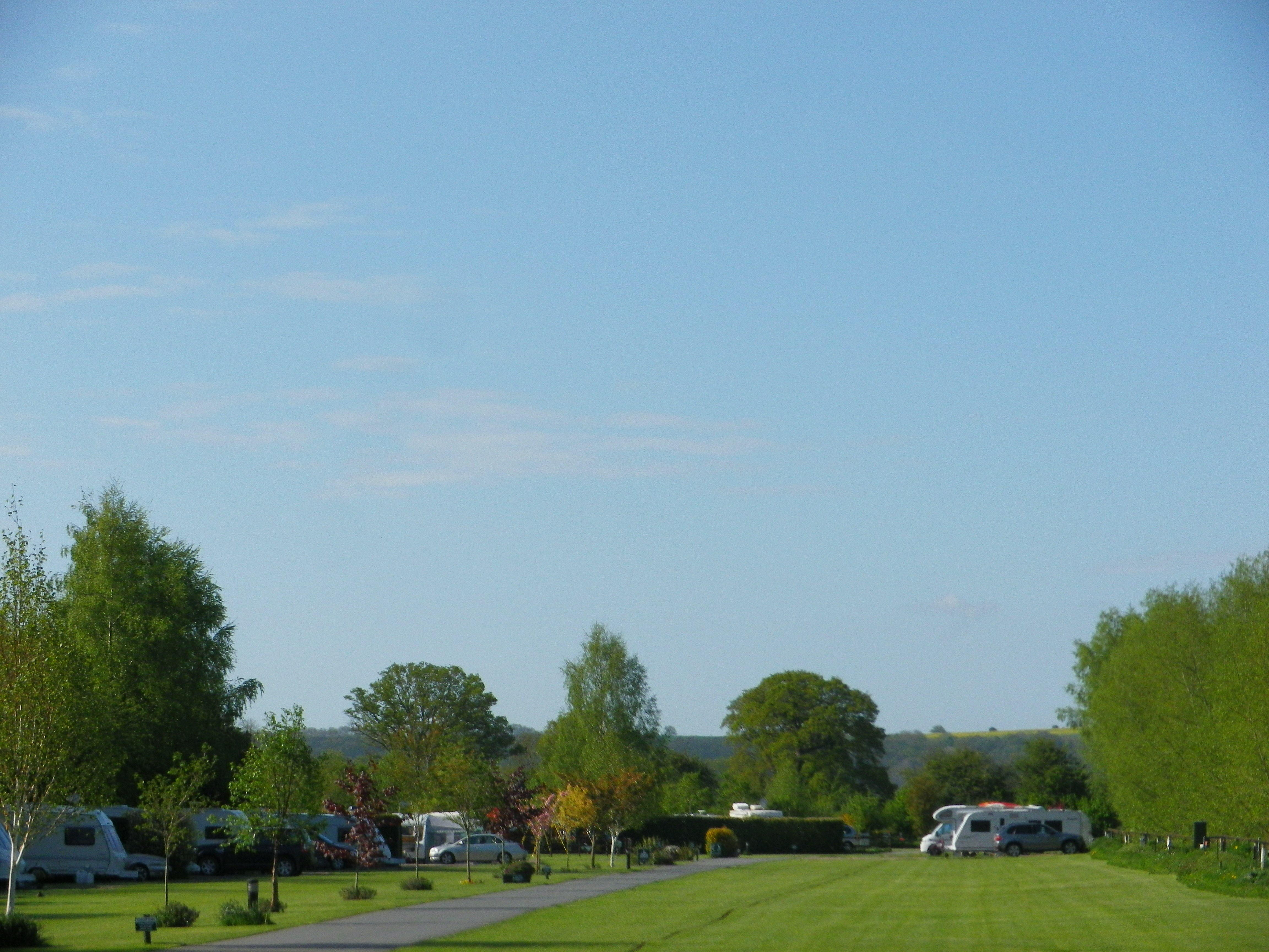 Seasonal Caravan Pitches at Lucksall Caravan & Camping Park.