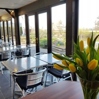 Dog friendly Riverside Bar & Eatery at Lucksall Park