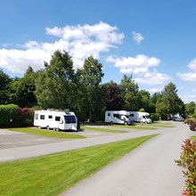 Caravan and Motorhome pitches