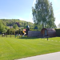 Playarea and Glamping at Lucksall