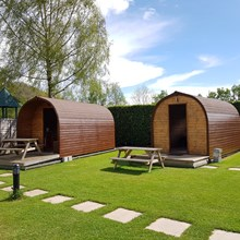 Glamping Pods to Hire - Lucksall